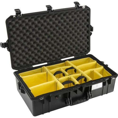 Pelican 1605 Air Case With Dividers 1605AIRBWD Pelican 625