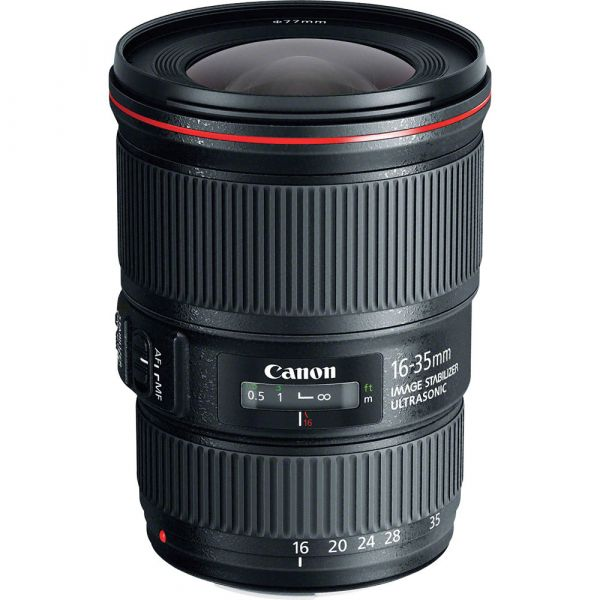 Canon EF16-35mm f/4L IS USM RENTCAN-EF1635F4L Full-Frame 0