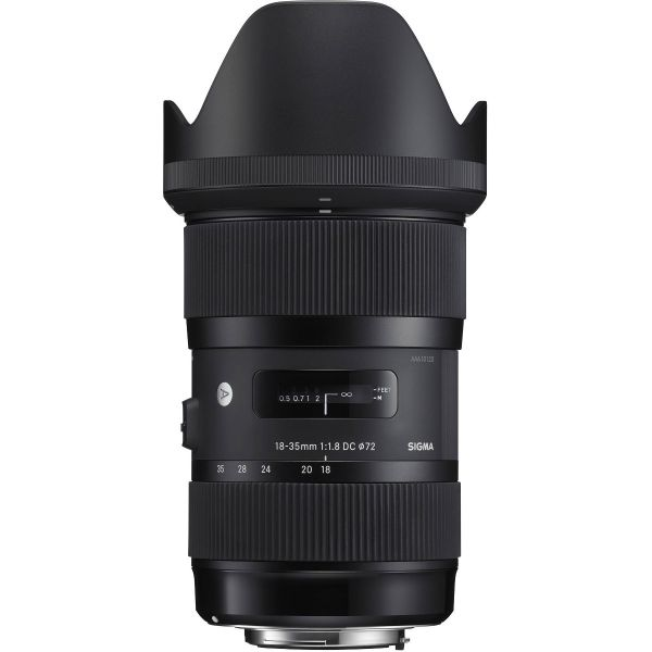 Sigma 18-35mm f/1.8 DC HSM Art for Canon RENTSIG-1835C APS-C 0