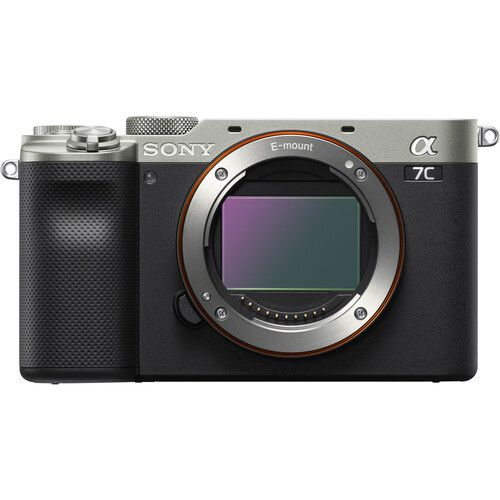 Sony a7C Silver Body Only ILCE7CS New arrival 3185