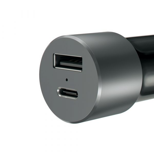 Satechi 72W USB-C PD Car Charger - Space Grey ST-TCPDCCM Computer Accessories 55