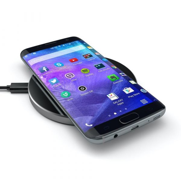 Satechi Fast Wireless Charger - Space Grey ST-WCPM Computer Accessories 70