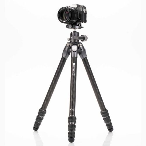 Tortoise 14C with GX25 Ball Head, Carbon Fibre, 4 Section, Photo Tripod Kit TTOR14CGX25 Tortoise 385