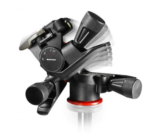 Manfrotto MHXPRO-3WG XPRO Geared Three-way Pan/Tilt Tripod Head MHXPRO-3WG Tripod Heads 303.450000