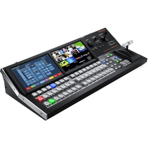 Roland V-1200HD-SYS Video Switcher & Control Surface Bundle V1200HD Switchers & Controllers 15999