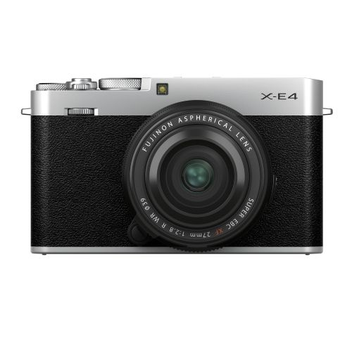Fujifilm X-E4 Silver with XF27mmF2.8 R WR Kit 74419 Mirrorless Cameras 1599