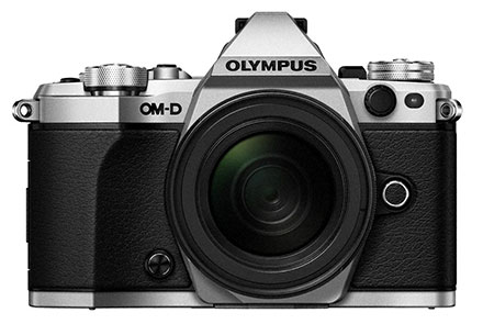 Olympus OM-D E-M5 Mark II Compact System Camera Body - Silver