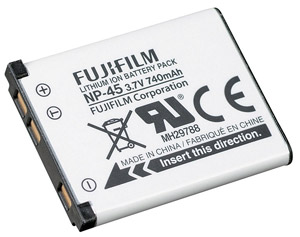 Fujifilm NP45 Lithium-Ion Rechargeable Battery