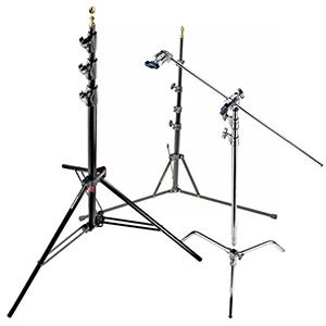 Lighting Stands, Booms and Mounts