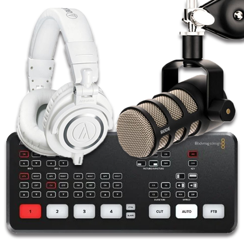 Live Streaming & Podcasting