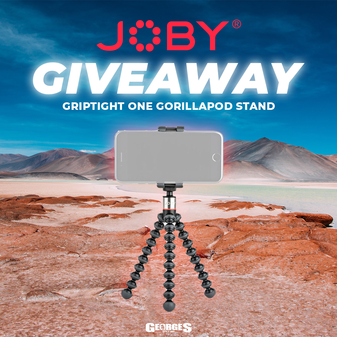 GIVEAWAY   JOBY GRIPTIGHT ONE GORILLAPOD STAND